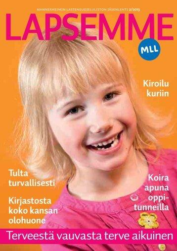 Lapsemme 2/13 - Mannerheimin Lastensuojeluliitto