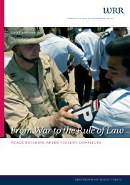 From War to the Rule of Law - Oapen
