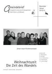 Gemeindebrief St. Helena Dez 2012-Jan 2013 - Ev ...