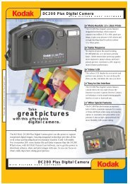 DC200 Plus Digital Camera - Kodak