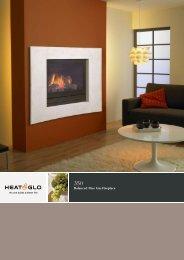 on gas fireplace SL-350TRS