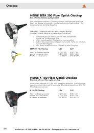 HEINE BETA 200  Fiber Optisk Otoskop HEINE K ... - svas svalland as