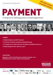Programm als PDF - PAYMENT