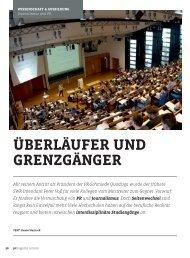 ÜBERLÄUFER UND GRENZGÄNGER - Universität Leipzig