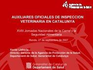 AUXILIARES OFICIALES DE INSPECCION VETERINARIA Xavier ...