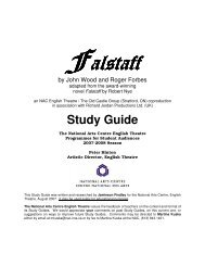 Falstaff Study Guide - National Arts Centre