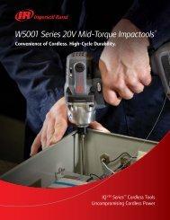 W5001 Series 20V Mid-Torque Impactools™ - Ingersoll Rand