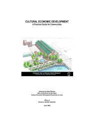 Cultural Economic Development: A Practical Guide ... - Pure Michigan