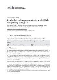 Standardisierte kompetenzorientierte schriftliche Reifeprüfung in ...