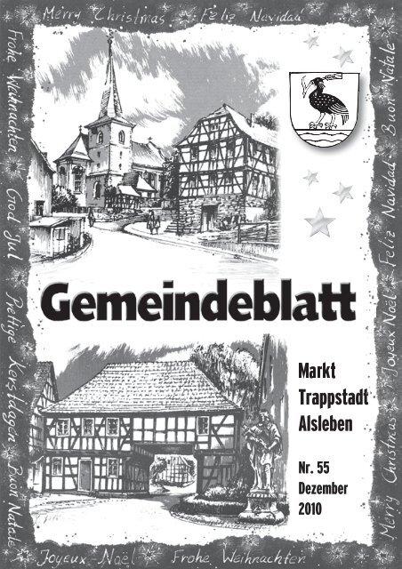 Gemeindeblatt Januar 2011 - Markt Trappstadt