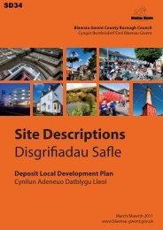 Site Descriptions - Blaenau Gwent County Borough Council