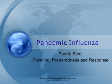 Pandemic Influenza - U.S. National Response Team (NRT)