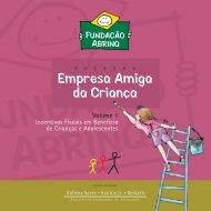 Caderno Abrinq sem paginar - Fundação Abrinq