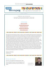 Volume 1, Edition 5 - Yes! - Economic Development Winnipeg