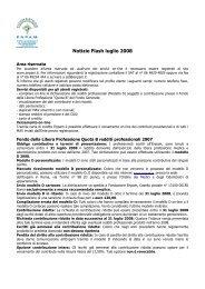 Notizie Flash luglio 2008 - Ordine dei Medici chirurghi e degli ...