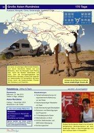 Große Asien-Rundreise 170 Tage 53 - SeaBridge
