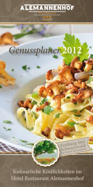 Download culinary annual planner - Alemannenhof