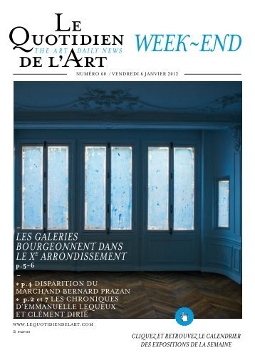 week~end - Le Quotidien de l'Art