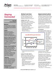 Newsletter Volume 5, Issue 2, Education Edition - Prism Decision ...