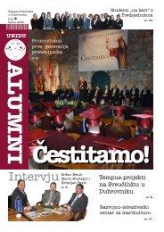 Alumni - broj 3 - Sveučilište u Dubrovniku