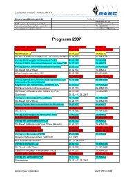 Programm 2007 - Packet-Radio-Gruppe Mittelrhein eV