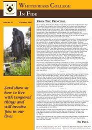 Issue No. 27 - October 17, 2008 - Whitefriars