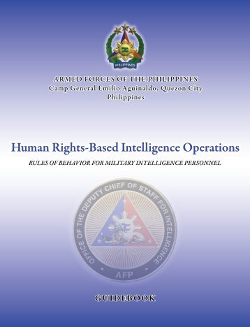 Human Rights-Based Intelligence Operations - Commission on ...