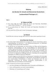 SAT BUNDTH neu 09.04.2011 - BUND e.V. Landesverband Thüringen