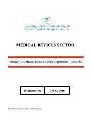 Temporary Requirements for clearing IVD medical devices