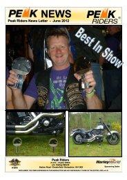 Peak Riders News Letter - June 2012