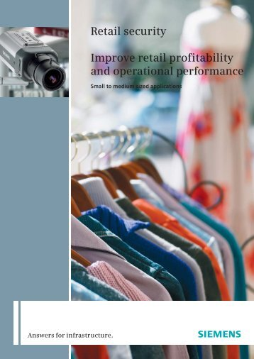 Retail security Improve retail profitability - Security Products ...