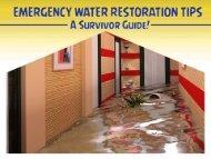 Emergency Water Damage Restoration Indianapolis