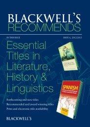 here - Blackwell's