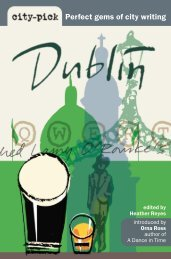 Click here to read free extracts from 'Dublin'