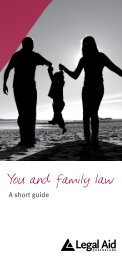 You and family law - Legal Aid Queensland