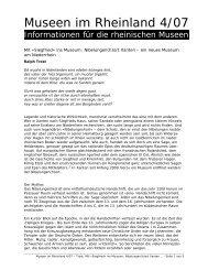 "Mit ""Siegfried"" ins Museum :Nibelungen(h)ort Xanten"