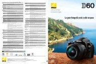 Nikon D60: La gran fotografía está a sólo un paso