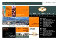 01 November 2004 Newsletter - Century City