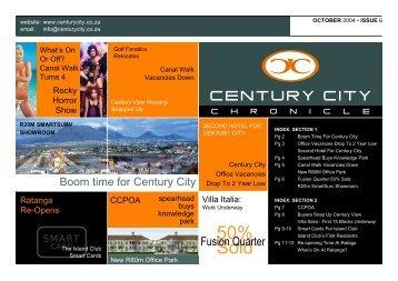 01 November 2004 Newsletter - Century City