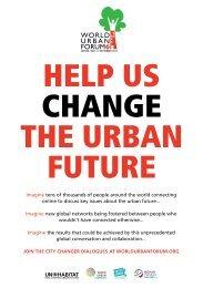 HELP US CHANGE THE URBAN FUTURE - Isocarp