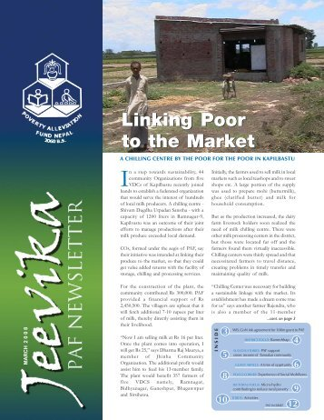 Jeevika - VOL 2, NUMBER 5, MARCH 2008 - Poverty Alleviation ...