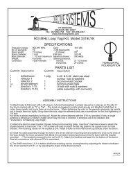 903 MHz Loop Yagi Kit, Model 3319LYK ... - Directive Systems