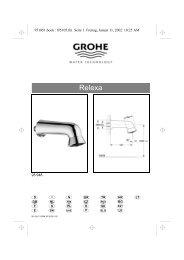 Linie Europlus Relexa - GROHE