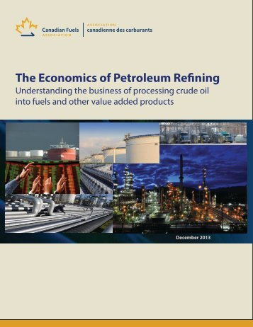 Economics fundamentals of Refining Dec 12 2013-final