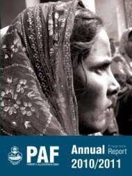 Fiscal year 2010/11 - Poverty Alleviation Fund, Nepal