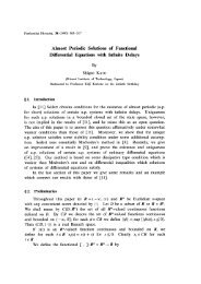 Almost Periodic Solutions of Functional