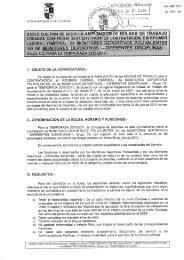 1.- OBJETO DE LA CONVOCATOREA.