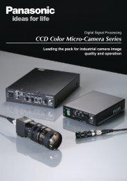 CCD Color Micro-Camera Series