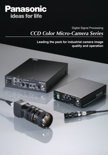 CCD Color Micro-Camera Series