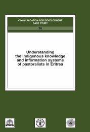 Pastoralists in Eritrea - FAO.org